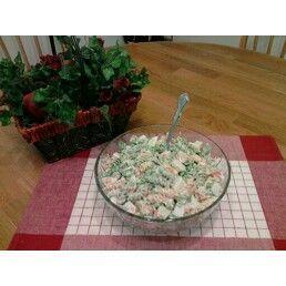 Garden and Crab Pasta Salad