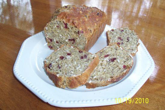 Healthy Cranberry Orange Bread