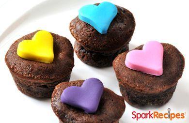 Chewy Mini Cupcake Brownies