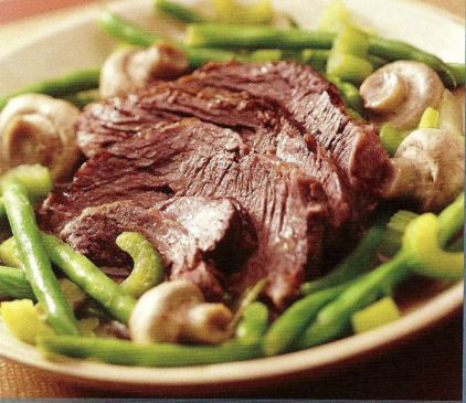 Spiced Crock-pot Beef Roast