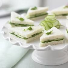 Cucumber Sandwich with European Style Butter