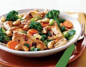 Mock Chicken Vegetable Stir Fry