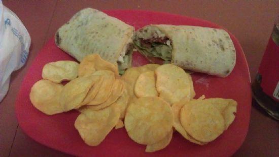Better than Subway Turkey/ Bacon Wrap