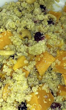 Butternut Squash and Quinoa Side Dish