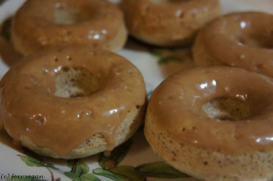 Baked Vegan Doughnuts (from Ieattrees)