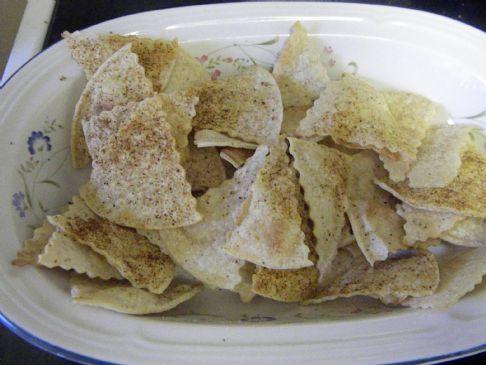 Herbed Baked Tortilla Chips