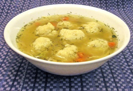 Midnight Matzo Ball Soup