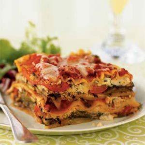 Shana's Vegetarian Lasagna