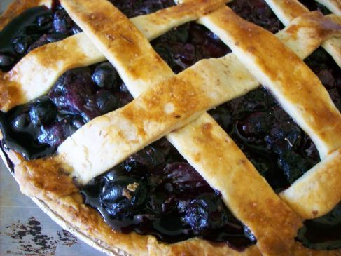 Blueberry-Citrus Pie
