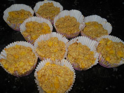 Yogurt Wheat bran Corn Muffins