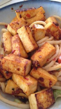 Chili-Lime Pan Fried Tofu