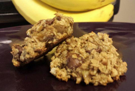 Chocolate Peanut Butter Oatmeal Health Cookies