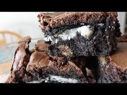 Oreo Cookie Brownies