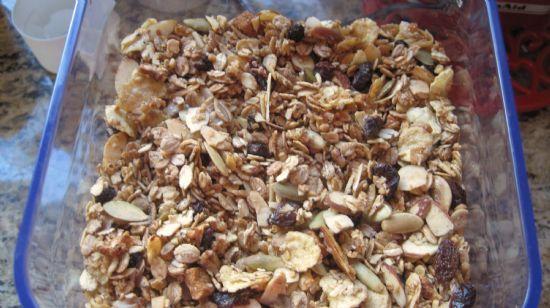 Maple Granola with Muesli