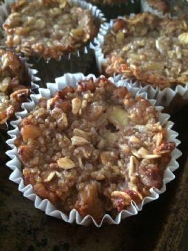 Banana Apple Quinoa muffins