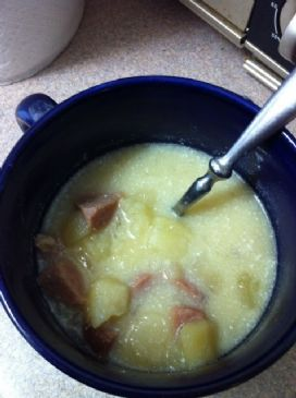 Potato and Ham Crock Pot Soup