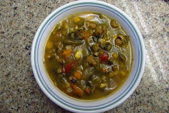 Vegetable Pea Soup