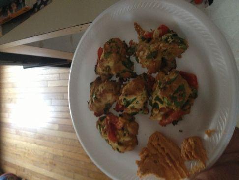 Spinach and Tomato Scones