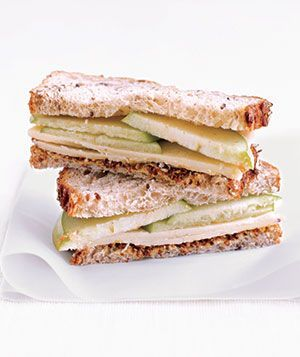 Cheddar and Apple Sandwich