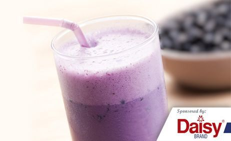 Banana Blueberry Smoothies from Daisy Brand®