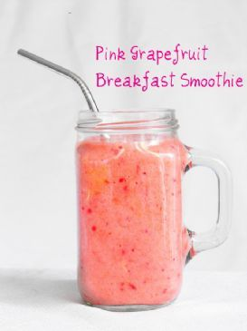 Crafty Little Gnome: Pink Grapefruit Smoothie
