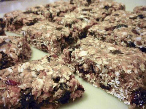 Vegan No-Bake Peanut Butter Chocolate Chip Protein Bars