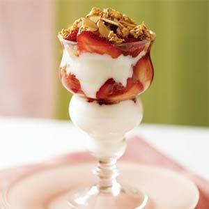Greek Yogurt Berry Parfait