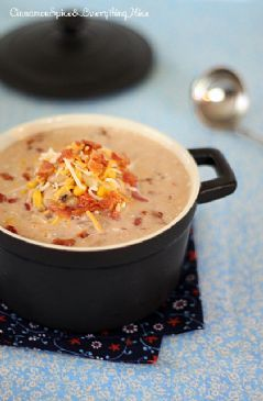 Jalapeno Popper Chicken Chili Soup