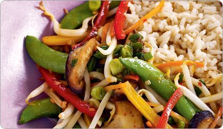 Shiitake Mushroom & Veggie Stir-Fry