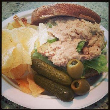 Tunafish Guilt-less Salad