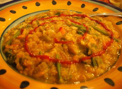 Super Healthy Red Lentil Soup