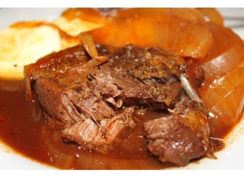 Slow Cooker Swiss Beef Roast