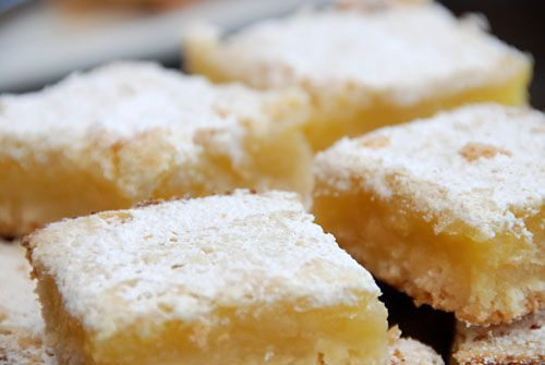 MaryJane's Lemon Luscious Low Cal Dessert Bars