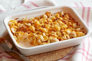Cheesy Cauliflower Augratin