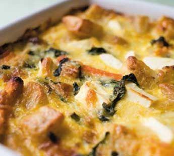 Oven-baked vegetable frittata