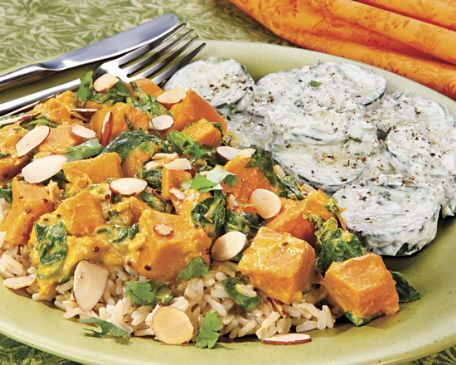 Southern Indian Squash Curry with Chicken