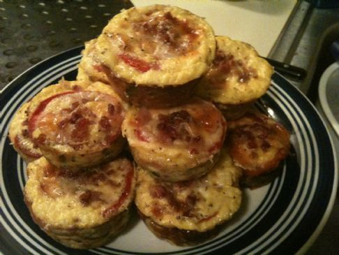 Crustless Quiche Muffins