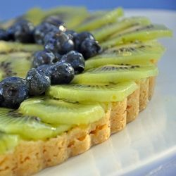 Blueberry-Kiwi Tarts