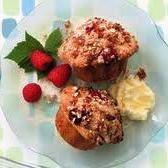 Bran & Oats Blueberry Raspberry Muffins (Trillium1204)