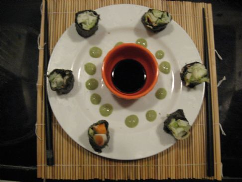 Sushi Maki Crab Roll - no rice