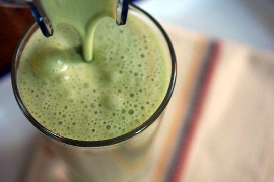 Almond Milk Green Tea Shake Recipe Sparkrecipes