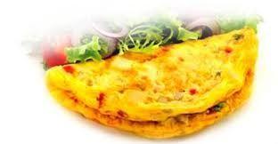 One Egg Veggie Omelette