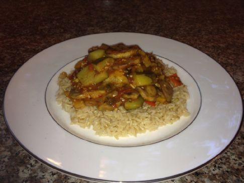 Healthy Mediterranean Stir Fry (Ghallaba)