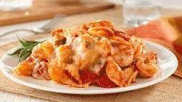 Cheesy Chicken and Pasta Casserole