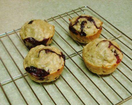 Kayla's Coconut Banana Blueberry Muffins