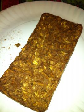 Apple Pie Baked Oatmeal (vegan, single serving)