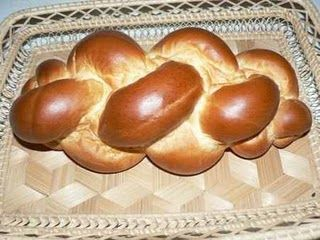 Easter braid (Fonott kalács, Hungary) (20 slices, 1srv=1sl=25g)