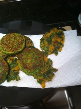 Lentil and Spinach Puffs