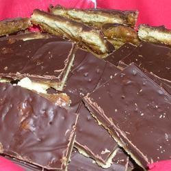 Chocolate Saltines