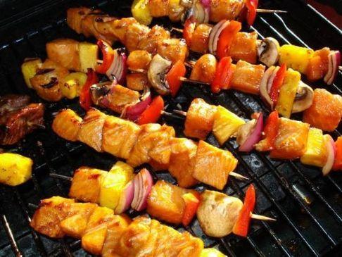 Chicken Souvlaki Kebabs